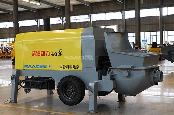 40二次构造输送泵(柴油动力)