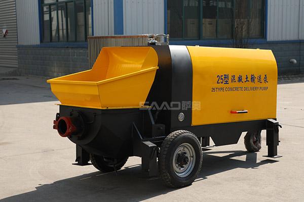 25混凝土输送泵